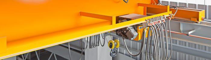 Conception 3D : Manutention aérienne pour cabines de peintures, distribution de caisses ou de cartons